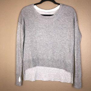 LULULEMON | Grey Soft Knit Sweater est size 8